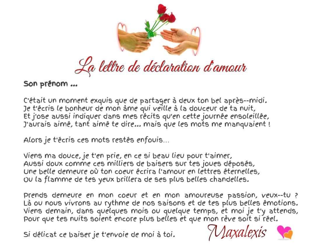 Lettres d 39 amour po sie d 39 amour - Guide du papa ...