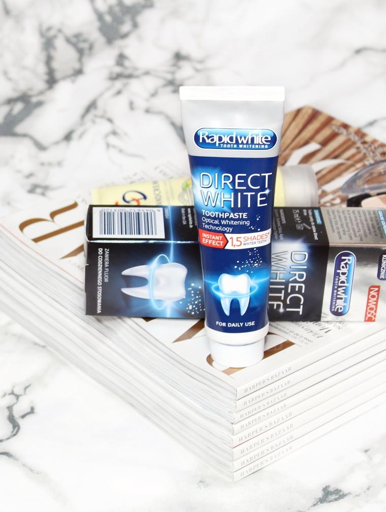 Pielęgnacja na jesień: Rapid White Direct White Pasta do zębów