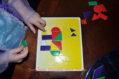 Make pictures with shapes