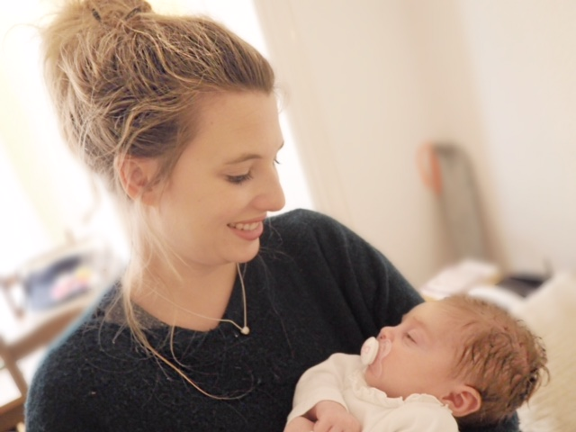 fiona kay with baby