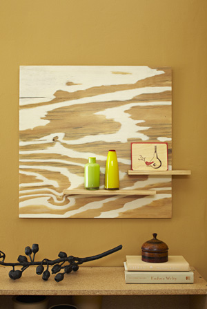 Dishfunctional Designs Going With The Grain Plywood Artwork
