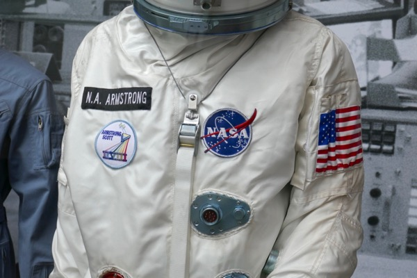Neil Armstrong First Man Gemini spacesuit