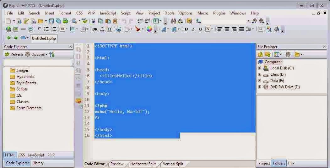 rapid-php-editor-sc1