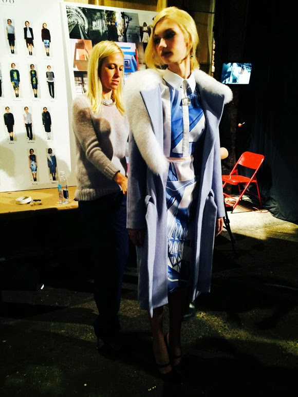 beautybysw.blogspot, backstage fashion NYFW