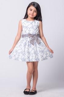 gambar baju batik anak perempuanterbaru