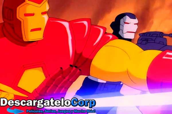 Iron Man Serie Completa 1994 DVDRip Latino