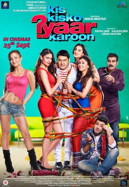 Poster of Kis Kisko Pyaar Karoon 2015 720p Hindi DVDRip Full Movie Download