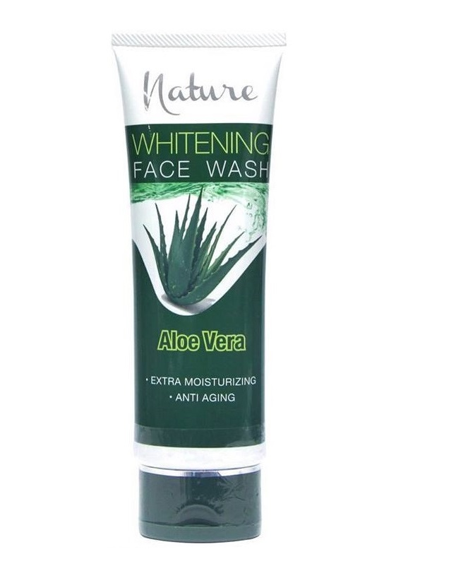 Nature Aloe Vera Face Wash 100 ml