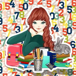 Ilustrasi Gadis Sekolah