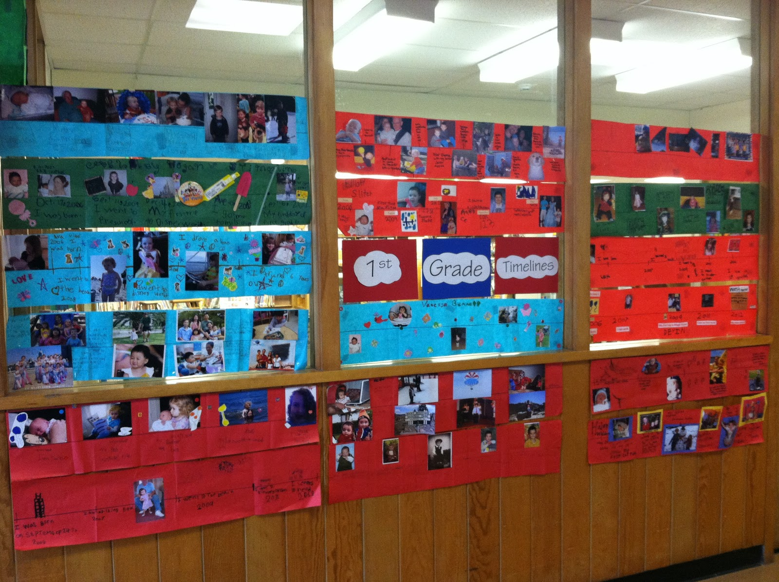 Mrs Brennan S Blog First Grade Timeline Project