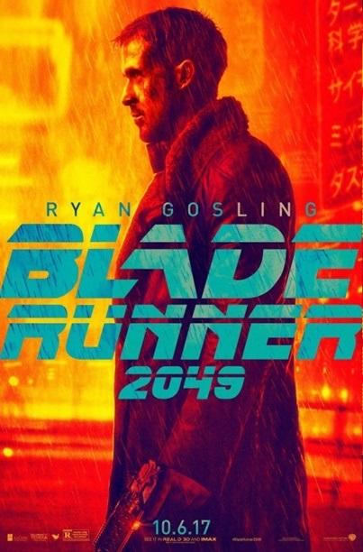 moviepush blade runner 2049 blue and orange movie posters