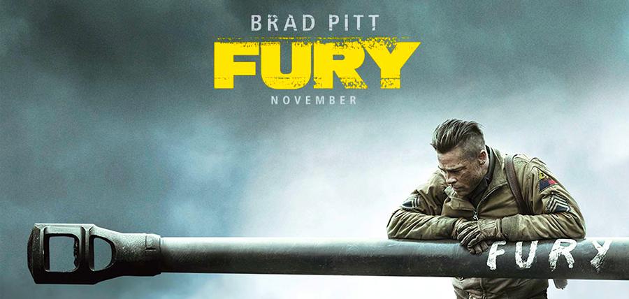 Brad Pitt în noul său film despre sfârşitul celui de-Al Doilea Război Mondial, intitulat Fury