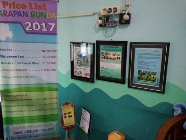 Daftar Tarif Harapan Bunda Baby Massage Center Semarang