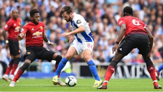 Brighton & Hove Albion vs Manchester United 3 - 2 Video Gol Highlights