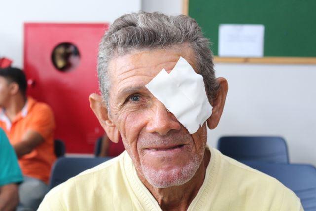 José de Ribamar Campos vai redobrar os cuidados no pós-operatório