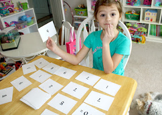 At one point, Tessa ended up with a BUNCH of answer cards. I really thought I had shuffled better than that.