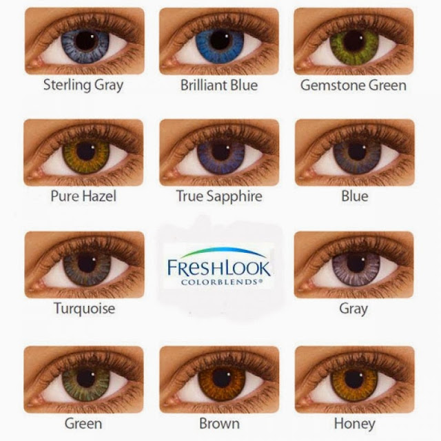 ad4339128cf Freshlook Colour Contact Lenses - Gemstone Green and Turquoise Blue Review!!