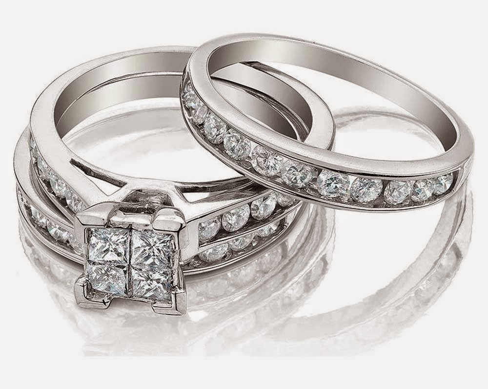 Luxury Diamond Wedding Ring Sets Under 1000 Dollars e4b58a467033