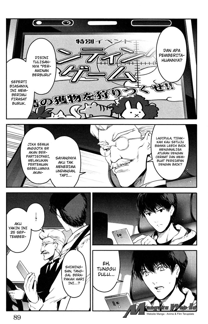 Darwin's Game Chapter 34-40