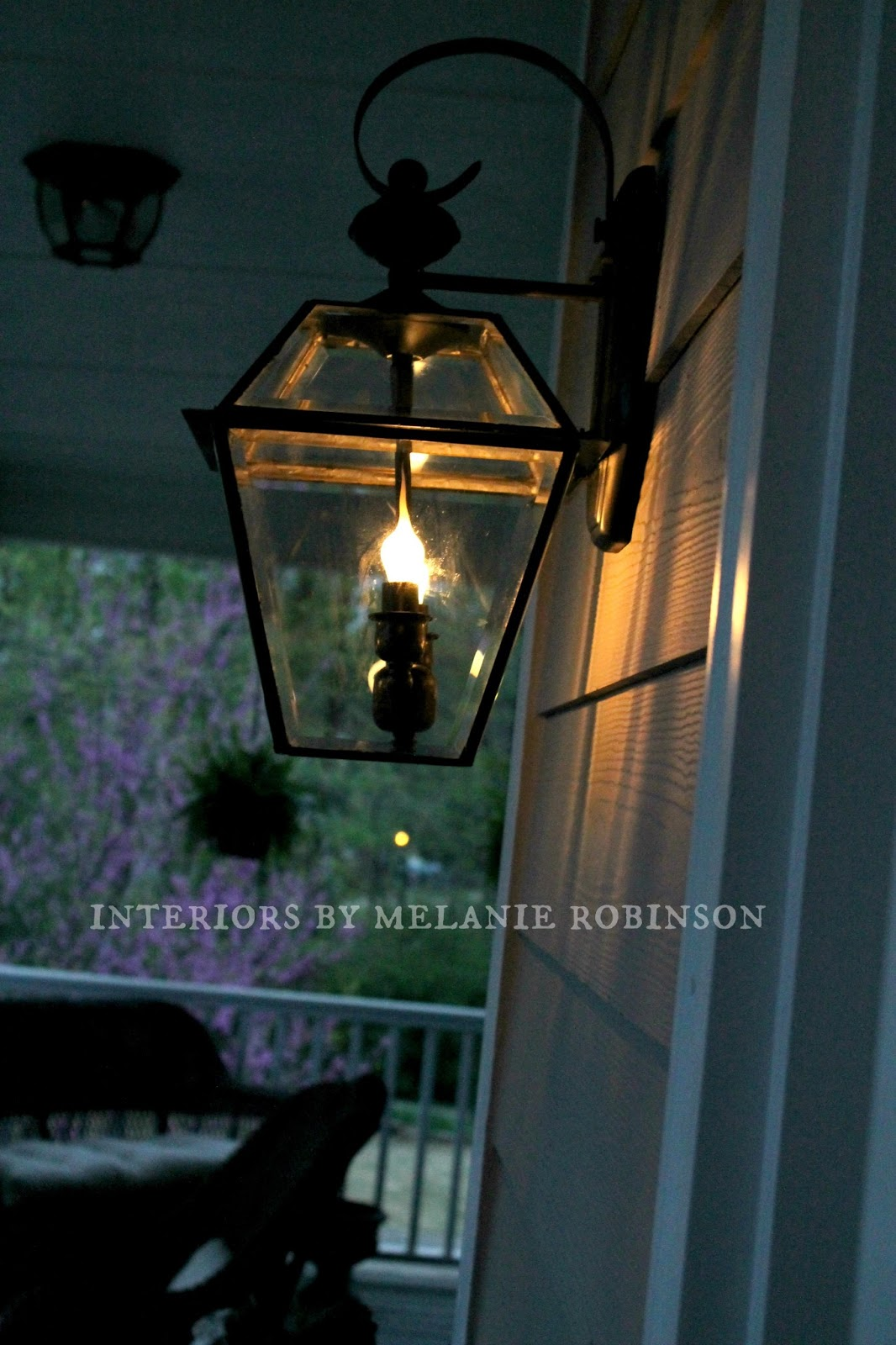 Faux Gas Street Lamp Makeover