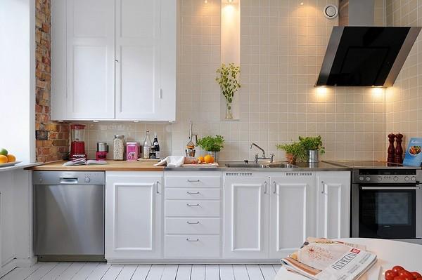 decoração de sala e cozinha