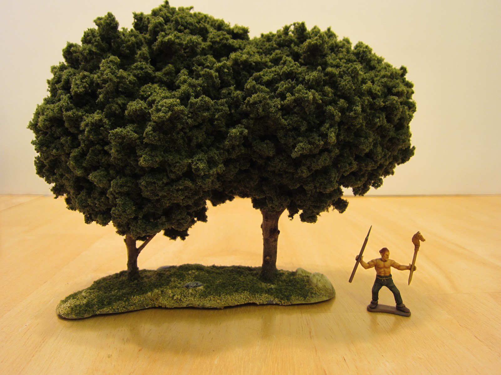 1000 Foot General: Improving My Miniature Terrain Trees