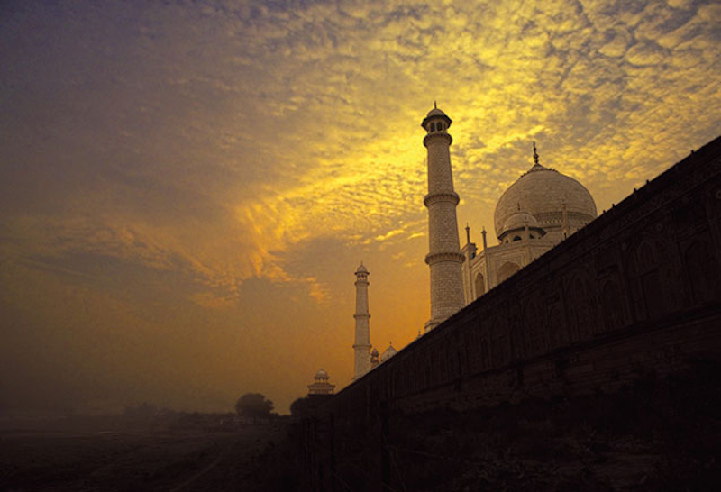 18. Taj Mahal, India - 20 of The Best Places To Watch The Sunset