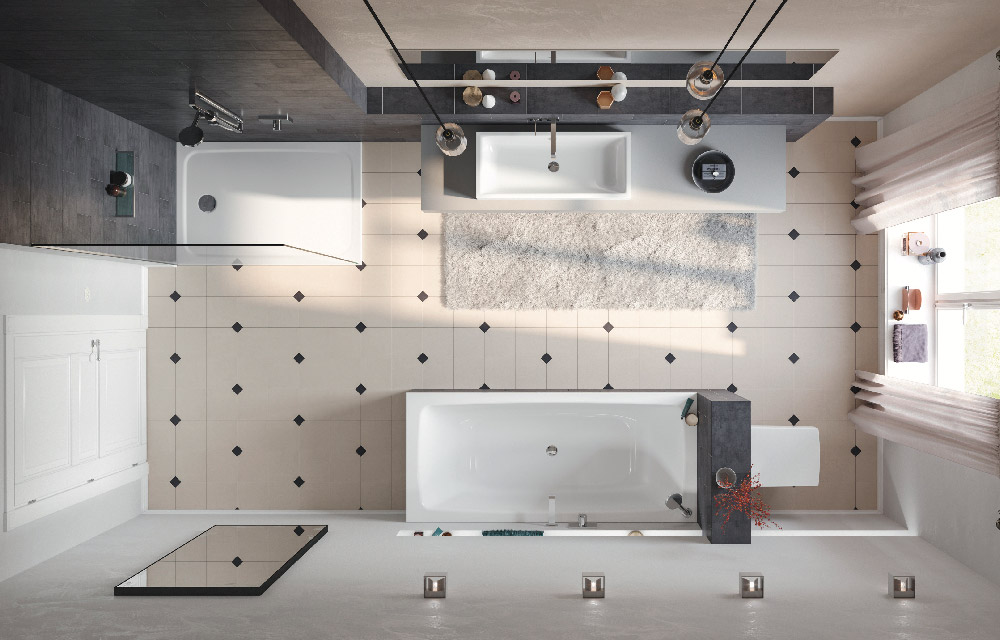 Vasca Da Incasso Kaldewei : Rinnovare il vecchio bagno con soluzioni di design a costi contenuti