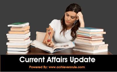 Current Affairs Update: 29th June 2017