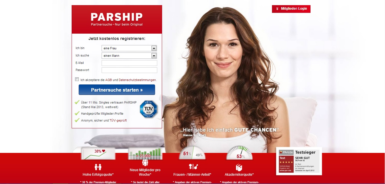 Online partnersuche beste