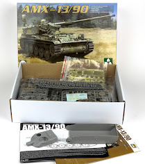 In-Boxed: Andy Reviews Takom's new AMX-13/90 French Light Tank in 35th scale