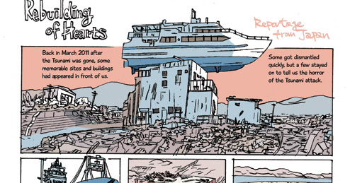 Rebuilding of hearts - 3 page reportage about aftermath of the tsunami
