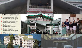 Darjeeling District or Eden Hospital