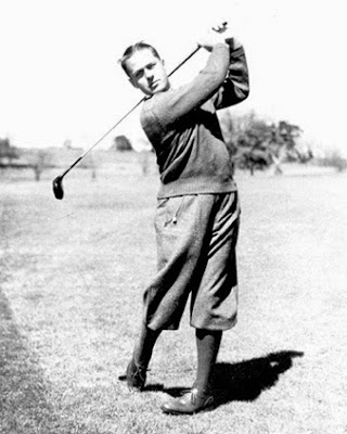 Golfer Bobby Jones, who wanted to roll back golf ball distance