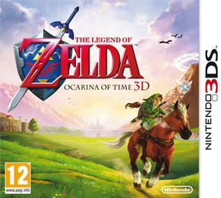 The Legend of Zelda Ocarina of Time 3D [EUR] 3DS [Español-Ingles] [MEGA]