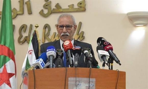 """Brahim Ghali: il est inacceptable que l'ONU soit """"absente"""" pour protéger les droits de l'homme au Sahara Occidental"""