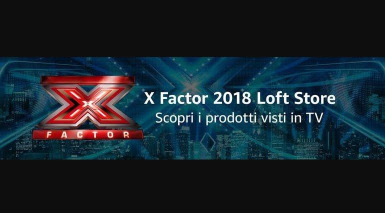 X Factor 2018 Loft Store