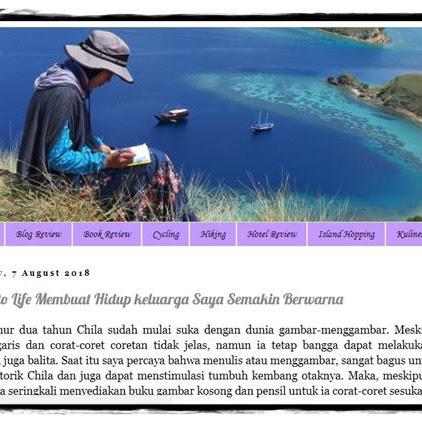 [Profil Blogger-10] Terbuai Indahnya Gunung-gunung dalam Tulisan Lina W. Sasmita