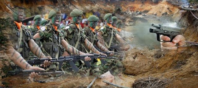 Grupos Elites del Ejercito Venezolano Accionan en Tumeremo Arco Minero