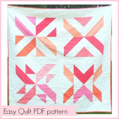 Sewhungryhippie Free Pdf Quilt Pattern Modern Clementine