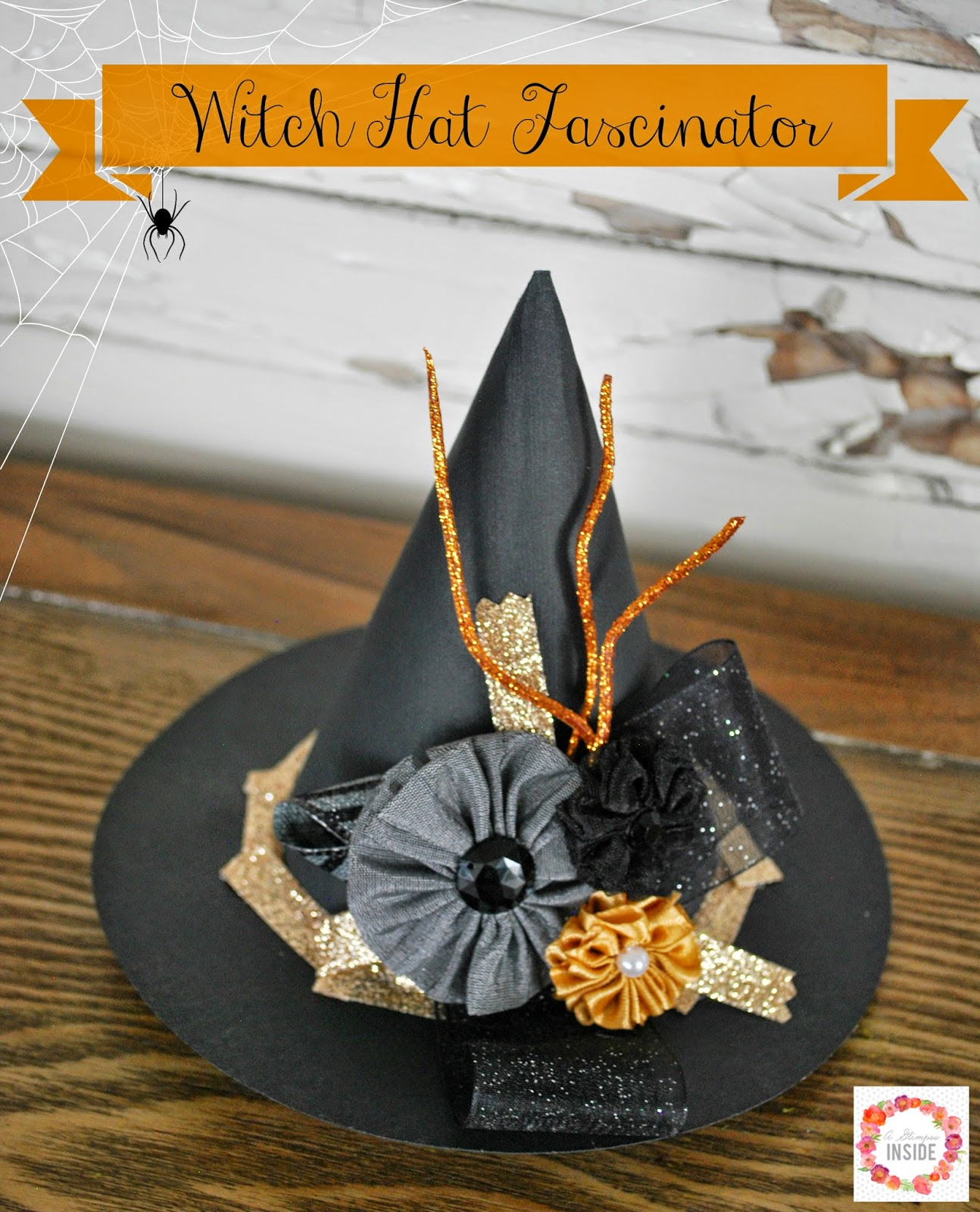 Witch Hat Fascinator  d5675948218