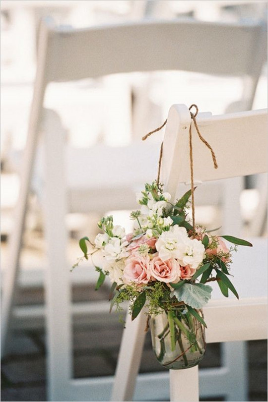 vintage wedding Aisle Ceremony decorations