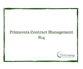 Primavera Contract Management R14