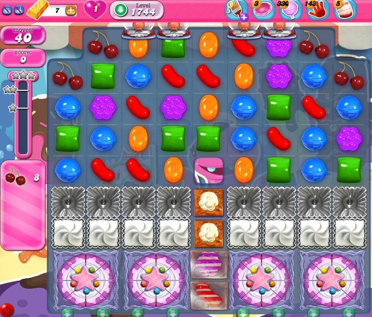 Candy Crush Saga 1744