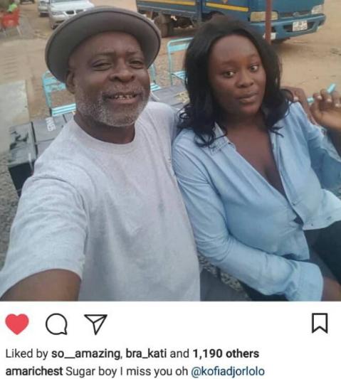Kofi Adjorlolo sleeping ama richest
