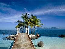"Wallpaper Beauty Of Nature ""tahiti Islands Resort"