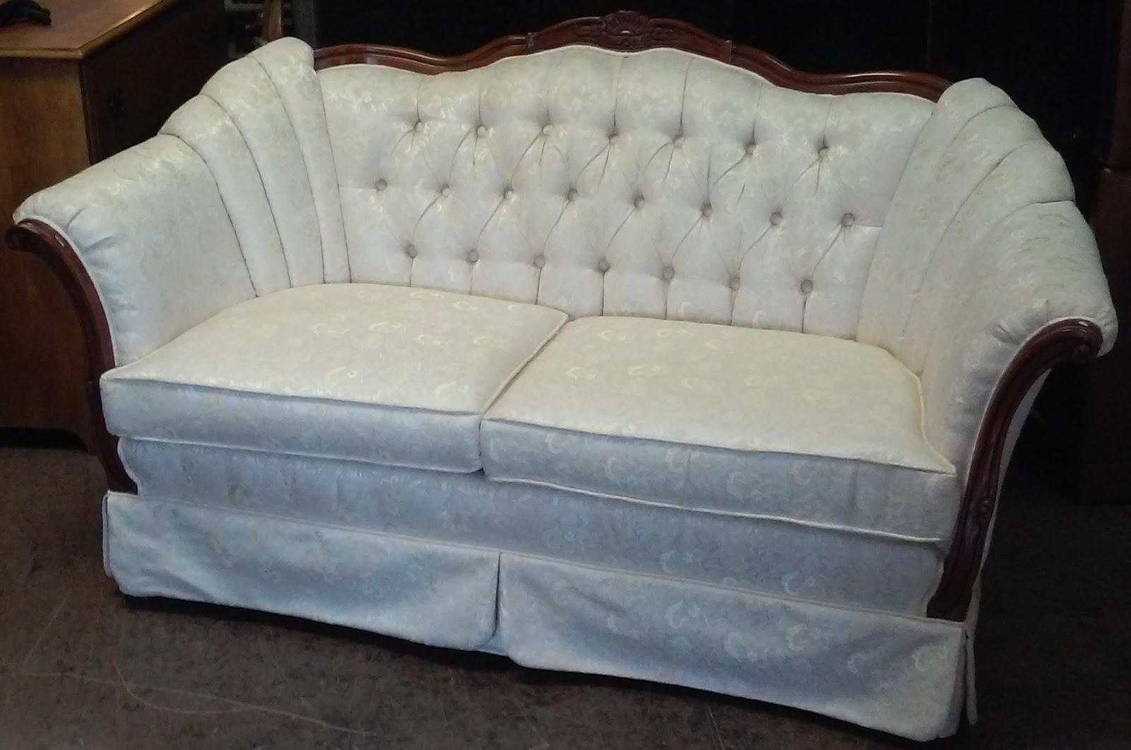 SOLD **REDUCED** Kimberly Furniture French Loveseat   $115