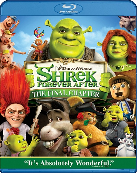 Shrek: Forever After (Shrek para Siempre) (2010) 720p y 1080p BDRip mkv Dual Audio AC3 5.1 ch