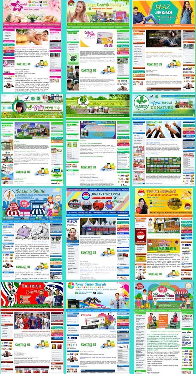 Contoh Pembuatan Toko Online Murah