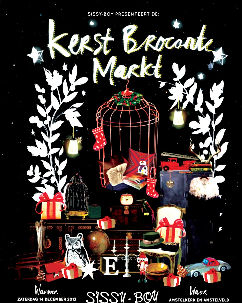 Weekend Tip | Brocante Christmas Fair Amsterdam, Sissy Boy, Pup Concepts, Hotspots, Lifestyle, Fashion, Brand, Must Visit, Amsterdam, Tip, Vintage, Antique, Food, Music, Fun, Kerstmarkt, Markt, Blog, LaVieFleurit, Blogger, Fleur Feijen